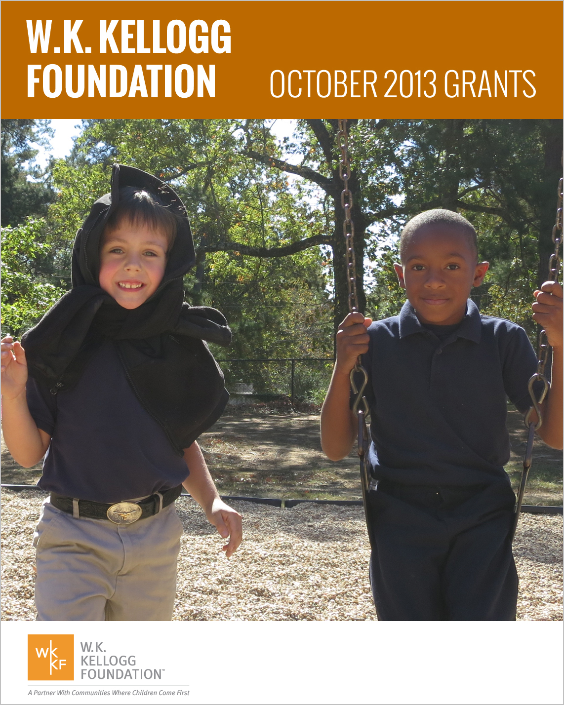W.K. Kellogg Foundation Grants - October 2013