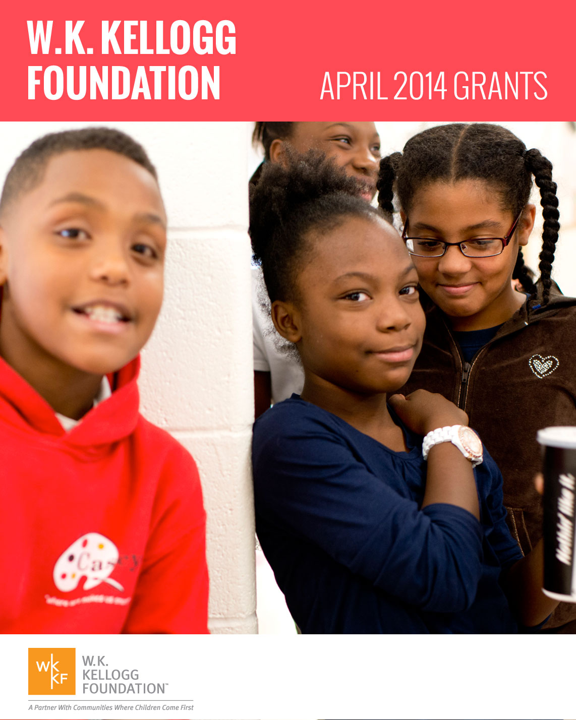 W.K. Kellogg Foundation Grants - April 2014