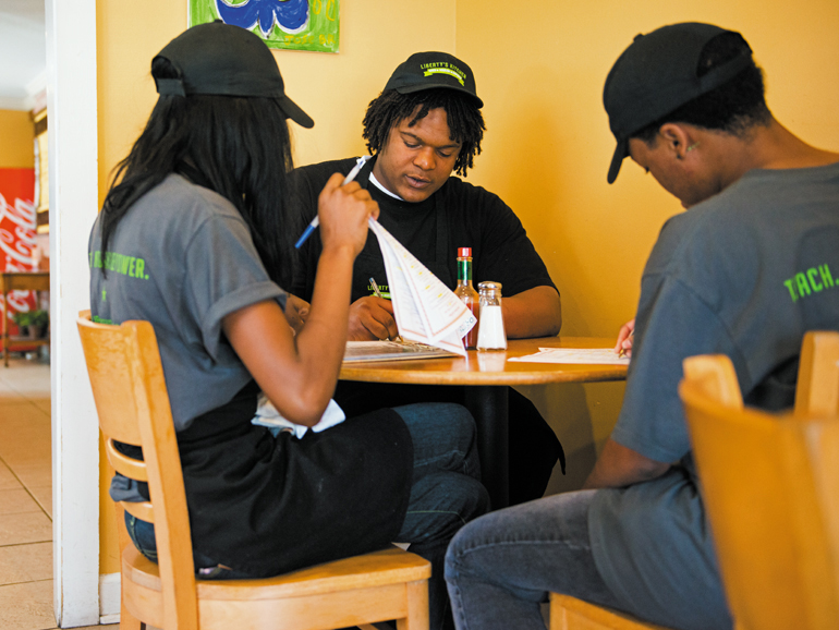 Liberty's Kitchen helps disconnected youth
