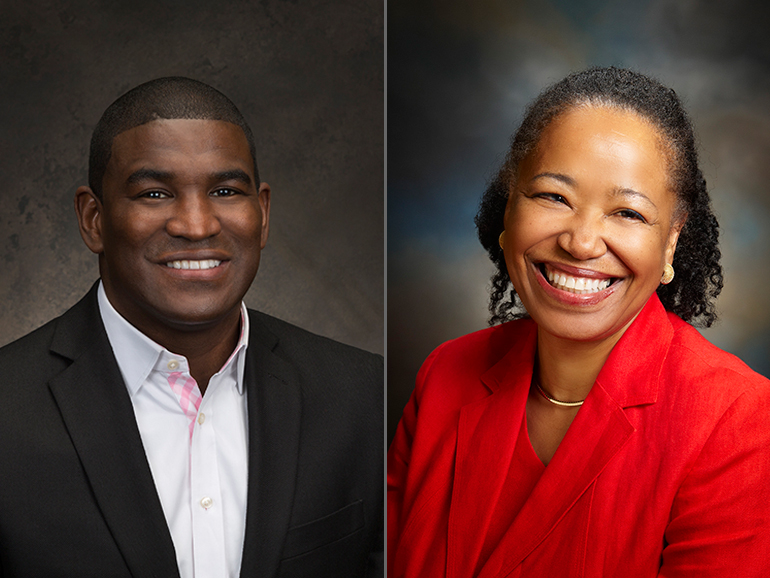 AJ Jones and Dr. Gail Christopher | W.K. Kellogg Foundation