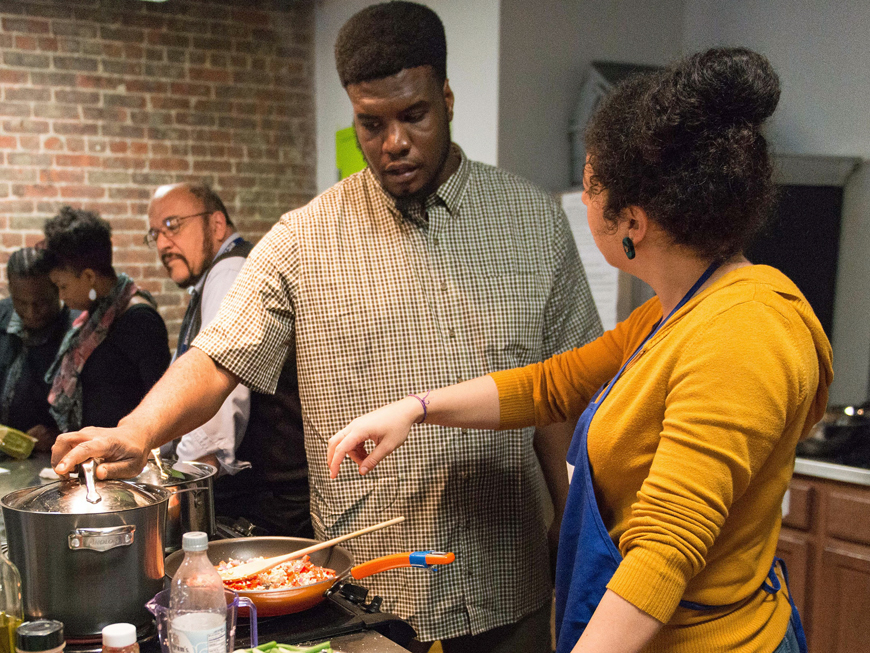 Brooklyn Daddy Iron Chef  | W.K. Kellogg Foundation
