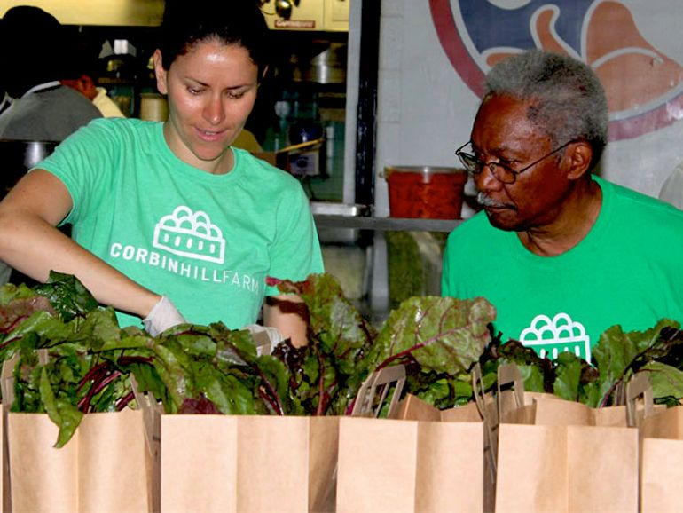 Corbin Hill Food Project | W.K. Kellogg Foundation