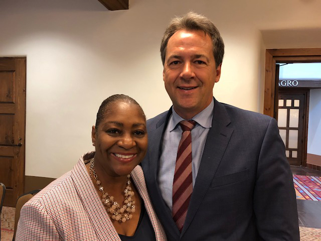 La June Montgomery Tabron and Gov. Steve Bullock | W.K. Kellogg Foundation