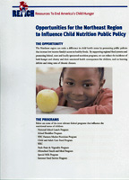Child Nutrition Public Policy